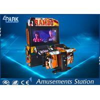 Quality Modern High-tech Shooting Arcade Machines With Bright LED Lights For Game Center for sale