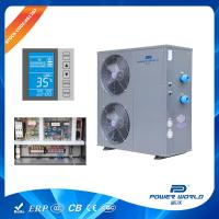 Solar Competible 30kw Swimming Pool Heat Pump Water Heater Thermostat System Titanium In PVC Manufactures