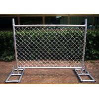 Cross Brace Chain Link Temporary Fencing Hot Galvanized Manufactures