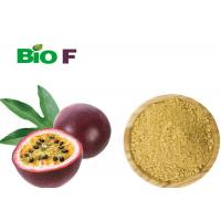 Yellow Nutrition Passion Fruit Juice Powder For Insomnia Sleep Disorders Manufactures