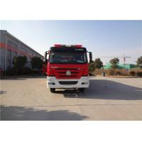 HOWO Chassis Motorized Fire Truck Foam Firefighting With Electric Primer Pump Manufactures