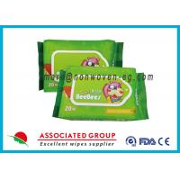 Buy cheap Reusable Biodegradable Wet Wipes Water Baby Wet Tissue Without Alcohol from wholesalers