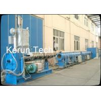 CE Standard 50 - 250mm HDPE Pipe Extrusion Machine  / Ppr Pipe Making Machine Manufactures