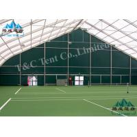 Waterproof Sporting Event Tents Polygon Sports Hall For Indoor Tennis Sports With SGS Manufactures