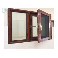 Thermal Break Aluminium Casement Windows Customized Color Heat Insulation Profiles Manufactures