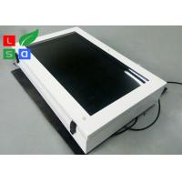 Quality Large Screen LCD Digital Signage Display , Outdoor 2000 Cd/M2 Brightness LCD AD for sale