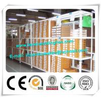Light Duty Shelving Cold Formed Steel Sections , Angle Steel Pallet Racking Syetem Manufactures