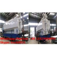 2018s best seller-CLW brand 8tons-20tons bulk feed tank with electric discharging system for sale, bulk feed tank body Manufactures