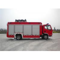 8 Ton 2 KW Light Fire Truck Wireless Controlling With Auxiliary Lighting Manufactures