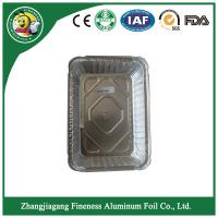 aluminum foil containers  with lid For Food  kitchen Packaging Manufactures
