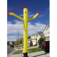 Quality Outdoor Large Inflatable Advertising Man , Blow Up Dancing Man For Rentals for sale