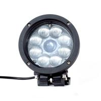 Black Color Spot / Flood Beam LED Vehicle Work Light with 5.5 Inch 45w 12v High Intensity CREE Chips Manufactures