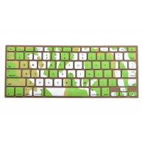 China Macbook Pro Silicone Keyboard Cover For Typing , Green Ocean Against Dust on sale