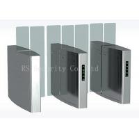 Full Height Simple Fast Outdoor Turnstile Security Gates Acrylic Or Soft Arm Manufactures