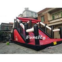 CE Approved Gym Inflatable 5k Obstacle Course With Two Years Warranty Manufactures