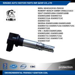 VW / AUDI 036905100A 036905100C BERU 0040102030 SKODA 036905100B SEAT 036905100A Car Ignition Coil unit , ignition parts Manufactures