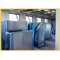 Shield Blue Color Duct Protection Film / PE Temporary HVAC Duct Cover Manufactures