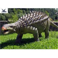 Life Size Animatronic Dinosaur Realistic Resin Waterproof Ankylosaurus Display Manufactures