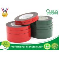 Strong Viscosity PE Foam Material Double Side Tape For Home Decoration / Automobile Emblem Manufactures