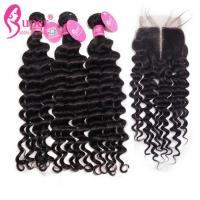 China 30 Inch Remy Human Hair Extensions Natural Black #1b 8a 9a 10a Grade on sale