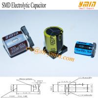 160V 220uF 20x21.5mm SMD Capacitors VKO Series 105°C 8,000 Hours SMD Aluminum Electrolytic Capacitor  RoHS Manufactures