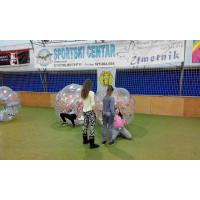Quality Clear Bump Ball Inflatable Sports Games Customized PVC / TPU for sale