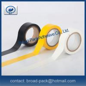 Flame Retardant Grade PVC Electrical Insulation Tape Manufactures