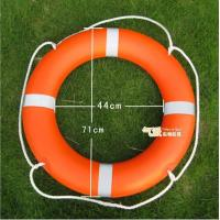Orange Plastic Life Buoy Inflatable Boat Accessories with SOLAS 1974/1996 Manufactures