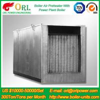 China Natural Gas Industry 10 Ton Ponderance 150 MW APH Heating Boiler Air Preheater on sale