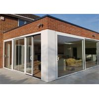 Hot Sale High Quality Aluminum Door With Glazed Glass For House Building From China Supplier Manufactures
