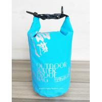 Light-Weight Tarpaulin PVC 2L Waterproof Dry Bags , Rolling-top  Dry Tube Bag Manufactures