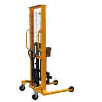 1.6m Lifting Height With 400Kg Load Eagle-gripper Type Hydraulic Drum Stacker Manufactures