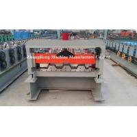 Metal Trapezoidal Sheet Floor Deck Roll Forming Machine With 28 Roller Stations Manufactures