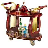 Annatto Hotel Liquor Trolley C-90 Room Service Equipments 980*560*860mm Manufactures