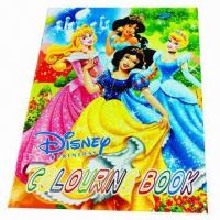 Coloring Book, Measures 21 x 28.4cm Manufactures