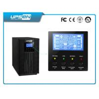 Single Phase 220VAC Online UPS 6kVA 10kVA with Parallel Redundancy Function Manufactures
