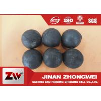 No Breakage Grinding Steel Balls for mining and Cement / steel mill media Manufactures