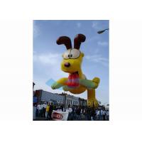 Quality Customized PVC Giant Advertising Balloons Dog Character Shaped 4M Dia for sale
