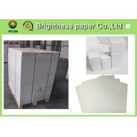 Double Side White Back Duplex Board 450gsm Paper For Printing Industry Manufactures