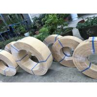 Yellow Asbestos Woven Brake Lining Roll , Woven Friction Lining Material Manufactures