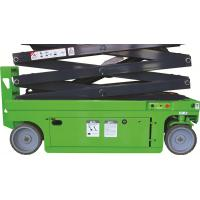 Automotive Scissor Lift Small Size 8m Electrical Driving /  230Kg Manufactures