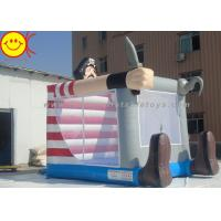 Lovely Commercial Inflatable Bouncers Pirate With Knife For Outdoor Castle Manufactures