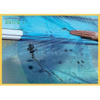 Blue Glass Temporary Protection Film With Solvent Based Adhesive Manufactures