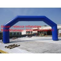 20m Giant bule color inflatable arch cheap inflatable arch for sale Manufactures