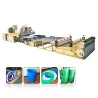Multilayer PP PE PC ABS Pvc Sheet Extrusion Line0.2mm-12mm Thickness Range Manufactures