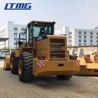 China 5 Ton Wheel Loader Front End Loader With AC And Joystick on sale