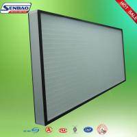 China High Efficiency Hepa Air Filters , Air Conditioner Hepa Filter Air Purifier on sale
