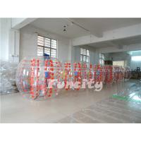 Adult PVC / TPU Body Zorb Ball 1.0MM Thickness With 1.5m And 1.8m Diameter Manufactures