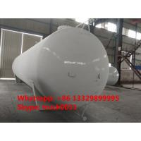 Quality export model 65,000L 26MT bulk surface lpg gas storage tank for sale, 65m3 propane gas storage tank for Nigeria market for sale