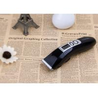 Rechargeable Lithium Battery Barber Shop Hair Clippers With Quiet Dc Motor Manufactures